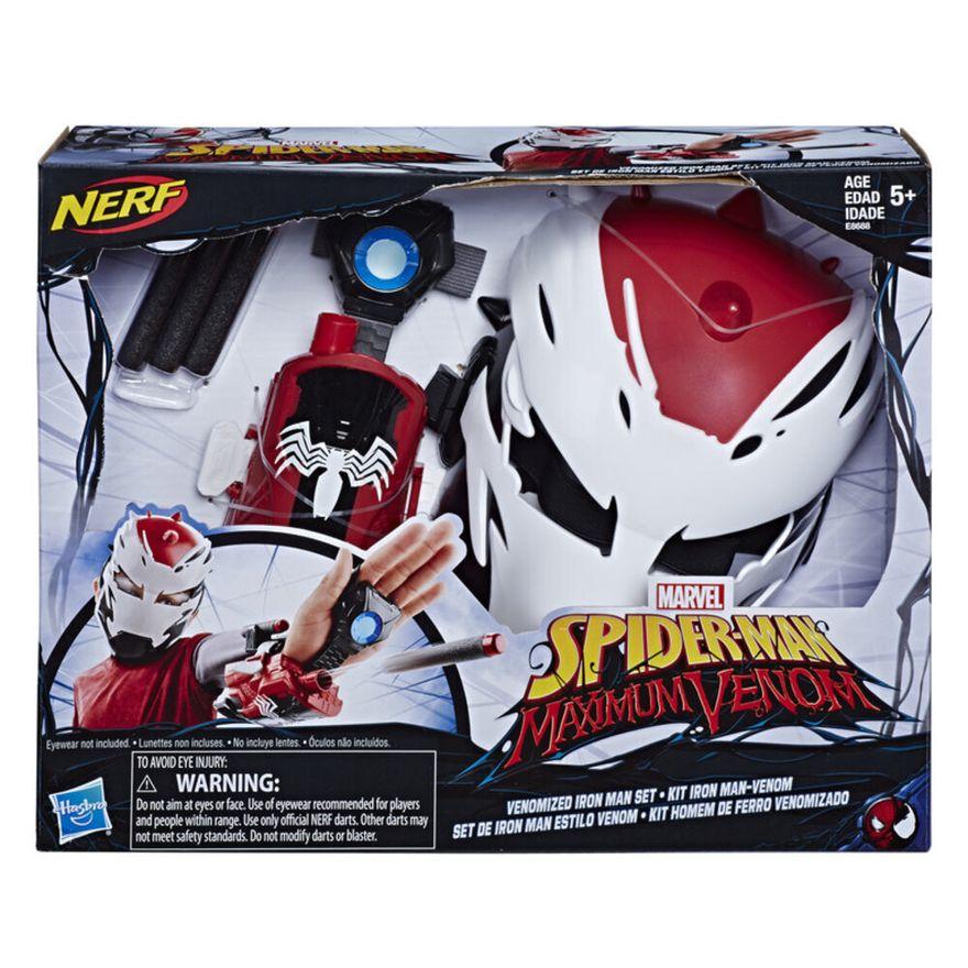 Mascara-e-Lancador---Disney---Marvel---Spider-Man-Maximum-Venon---Iron-Man-Venomizado---Hasbro-0