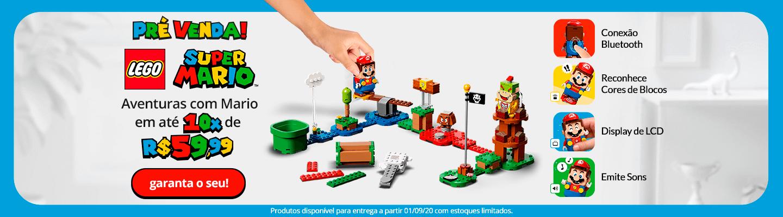 6 - Pré-Venda Lego Mario - FullBanner - Desktop - act