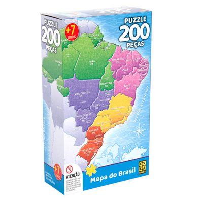 Quebra-Cabeca---200-Pecas---Mapa-do-Brasil---Grow-0