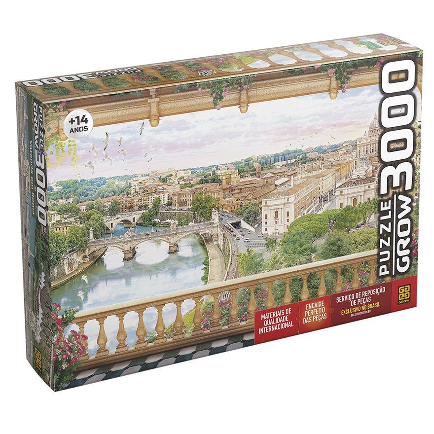 Quebra-Cabeca---3000-Pecas---Varanda-em-Roma---Grow-0