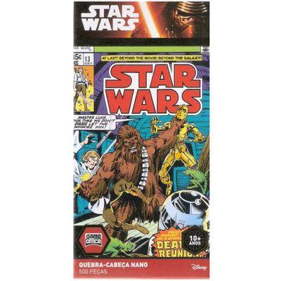 Quebra-Cabeca-Nano---Star-Wars---Chewbacca---500-Pecas---Toyster---Disney_Frente