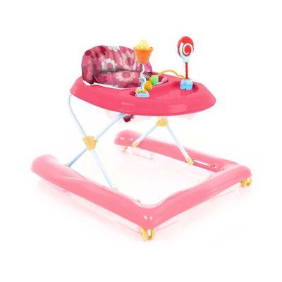 Andador---Baby-Step---Rosa---Voyage_Frente
