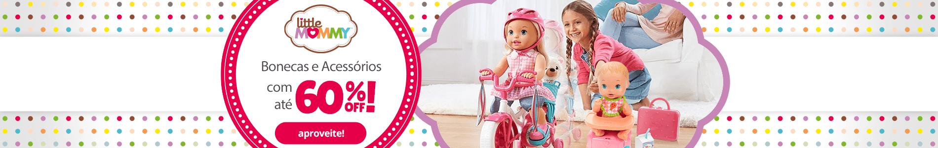 1 - Bonecas e Acessórios Little Mommy - BannerFaixa - Desktop - act