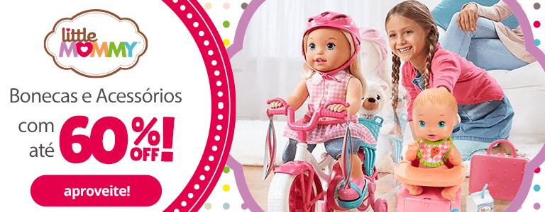 1 - Bonecas e Acessórios Little Mommy - BannerFaixa - Mobile - act
