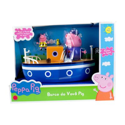 Mini-Veiculo---Barco-do-Vovo-Pig---Peppa-Pig---Sunny-0