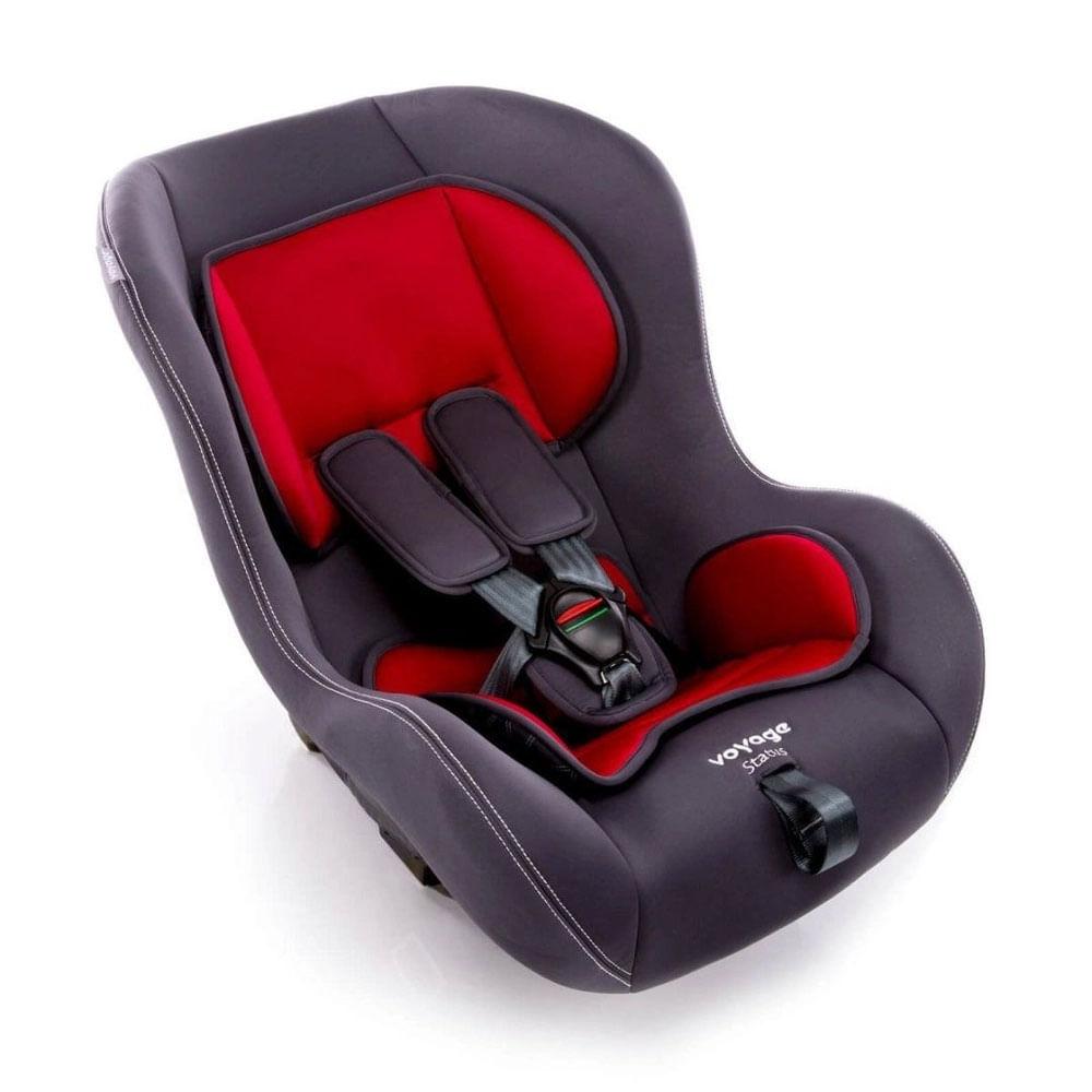 Cadeira para Auto - De 0 a 25 Kg - Status - Cinza e Vermelha - Voyage