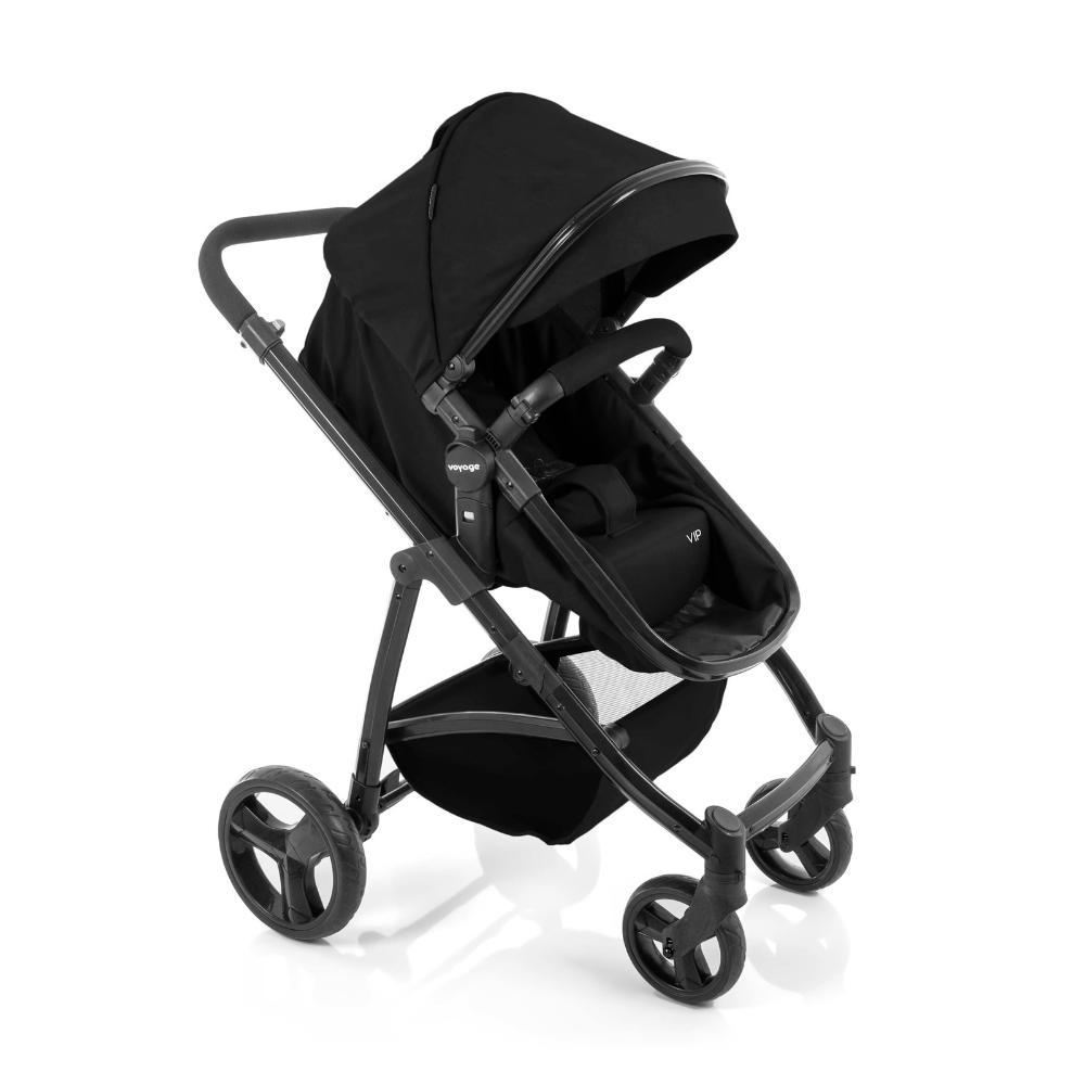 Carrinho de Bebê Voyage Vip Preto 0 a 15kg IMP01784
