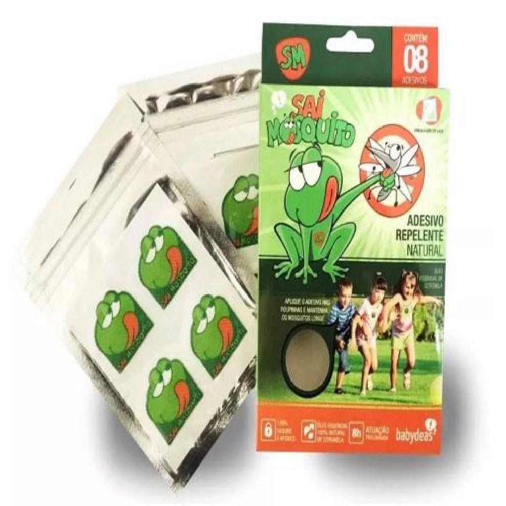 Repelente Adesivo Babydeas Sai Mosquito Com 8 unidades 70010404