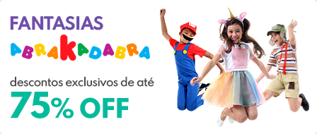 12 - Fantasias Abrakadabra Exclusivo 10% OFF  - Mktplace IN - Card - act