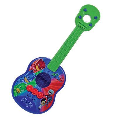 Oferta Brinquedo Musical - Mini Violão - PJ Masks - Verde - Candide por R$ 33.99