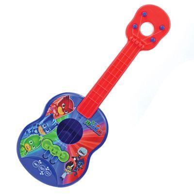 Oferta Brinquedo Musical - Mini Violão - PJ Masks - Vermelho - Candide por R$ 33.99