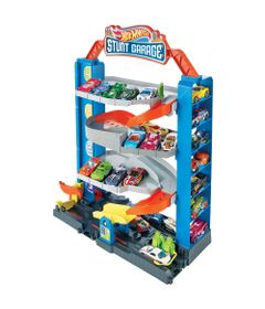 Pista-e-Veiculo---Hot-Wheels---City-Garagem---Mattel-0