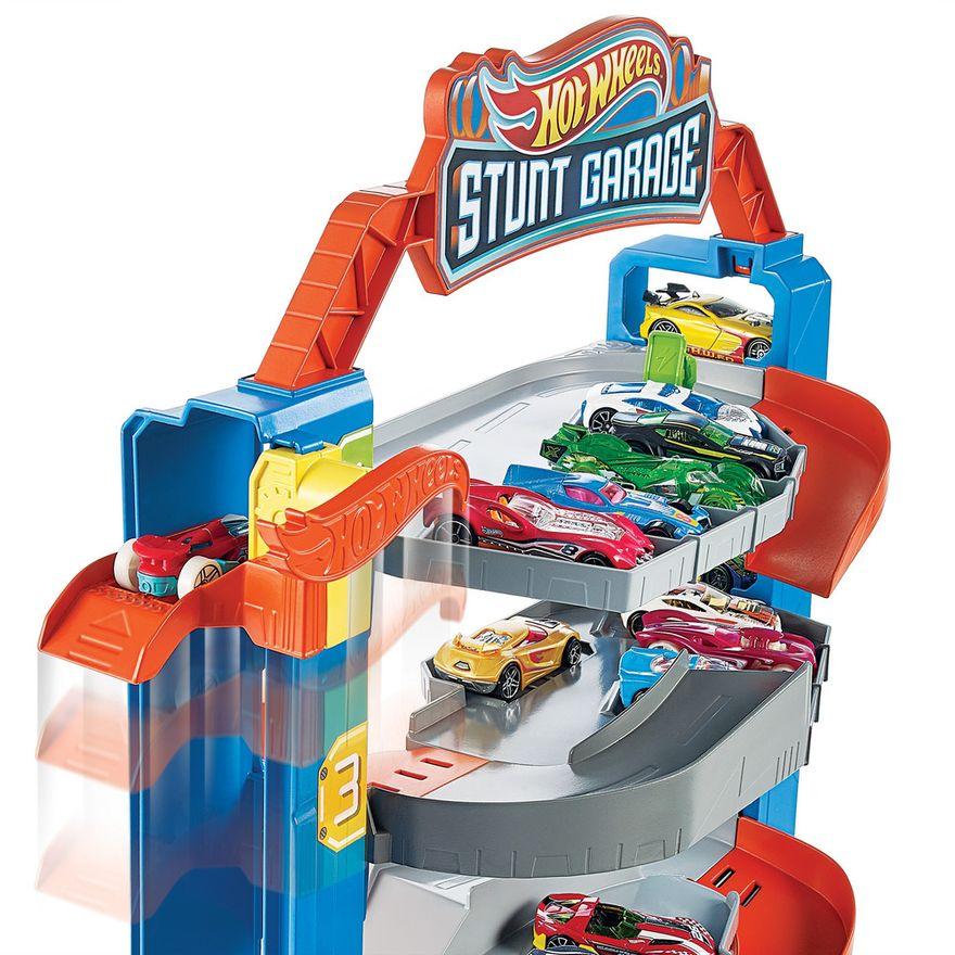 Pista-e-Veiculo---Hot-Wheels---City-Garagem---Mattel-2