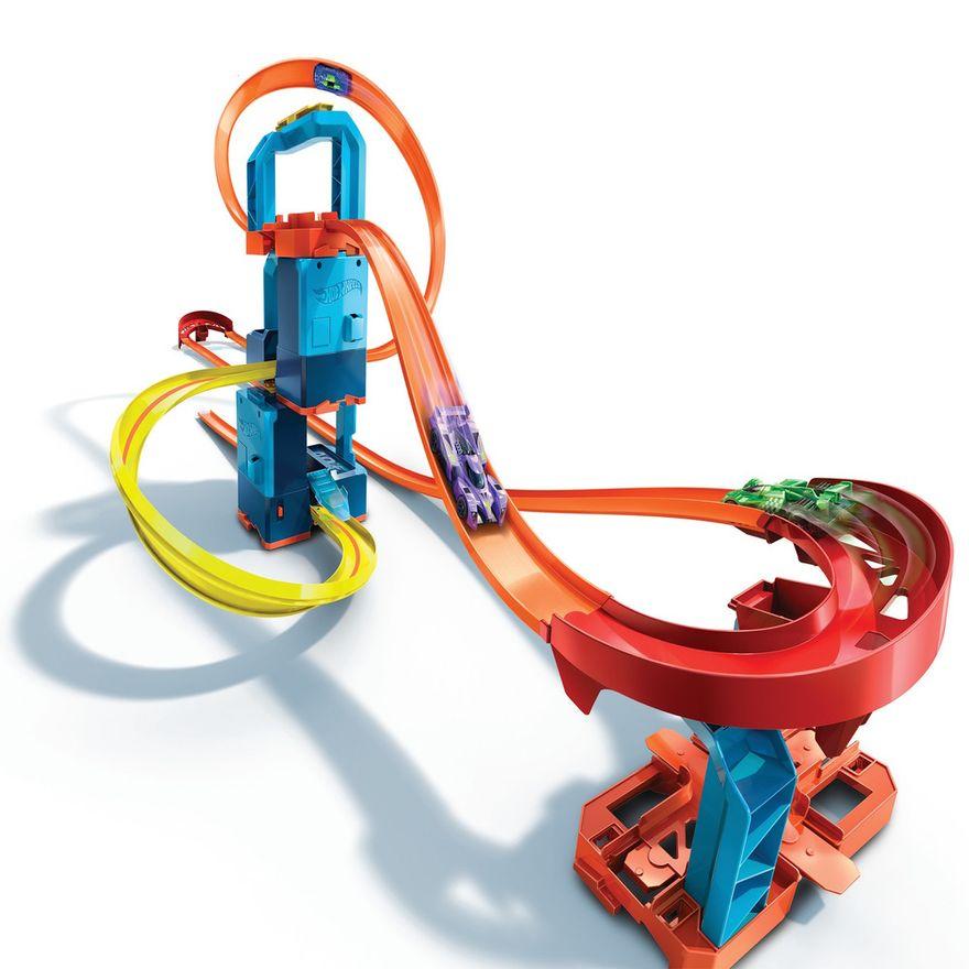 Pista-de-Percurso-e-Veiculo---Hot-Wheels---Track-Builder-Unlimited---Kit-Super-Impulso---Mattel-0