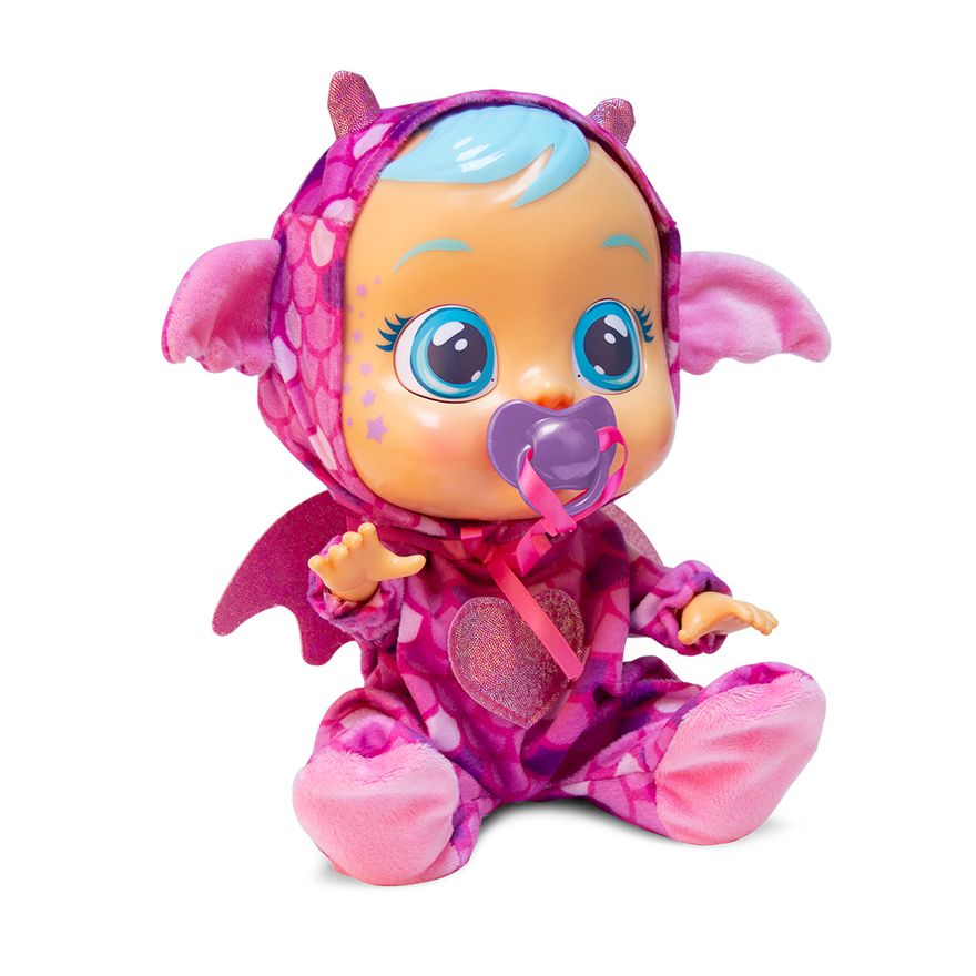 Boneca-Cry-Babies---Sons-e-Lagrimas-de-Verdade---Fantasy-Bruny---Dragaozinha---Multikids-0