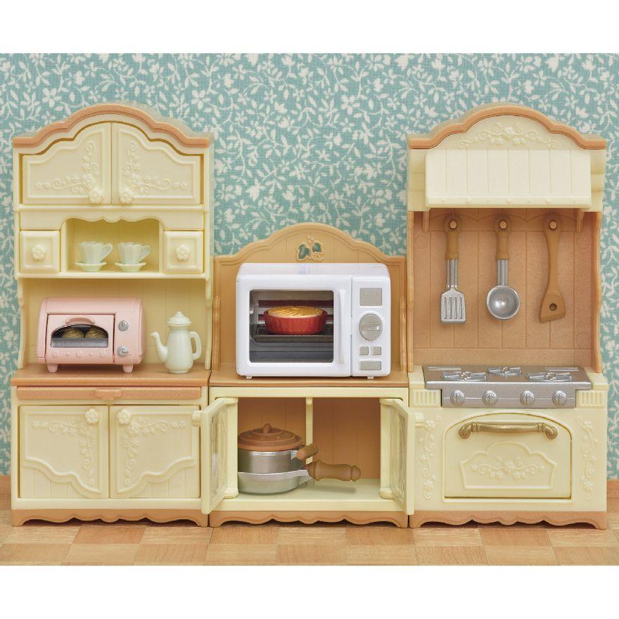 Sylvanian-Families---Micoondas-e-Gabinete---Epoch-1