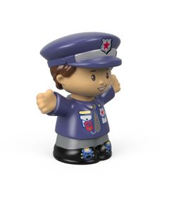 Mini-Figura---Little-People---Landon-Oficial-Policia---Fisher-Price---Mattel-0