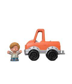 Mini-Figura-e-Veiculo---Little-People---Caminhonete-do-Eddie---Fisher-Price---Mattel-0