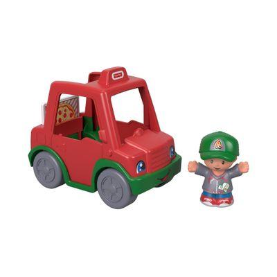 Mini-Figura-e-Veiculo---Little-People---Veiculo-Entrega-Pizzas---Fisher-Price---Mattel-0