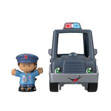 Mini-Figura-e-Veiculo---Little-People---Carro-de-Policia---Fisher-Price---Mattel-0