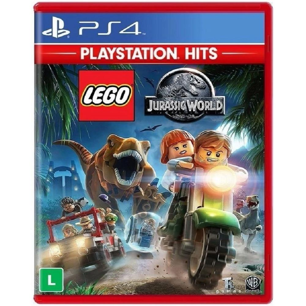 Lego Jurassic World PS Hits BR - PS4