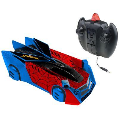 Veiculo de Controle Remoto Web Climber Disney Marvel Spider Man Candide