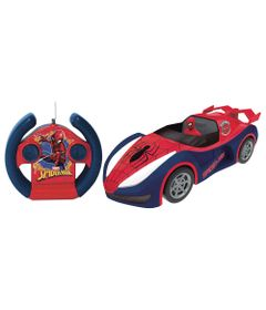 Veiculo-de-Controle-Remoto---Overdrive---Disney---Marvel---Spider-Man---Candide-0