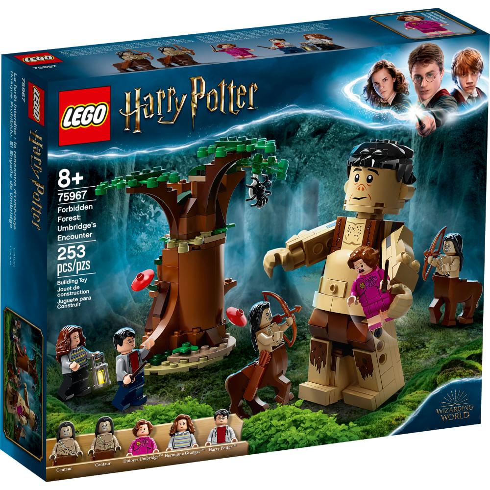 LEGO Harry Potter - A Floresta Proibida - O Encontro De Grope e Umbridge - 75967
