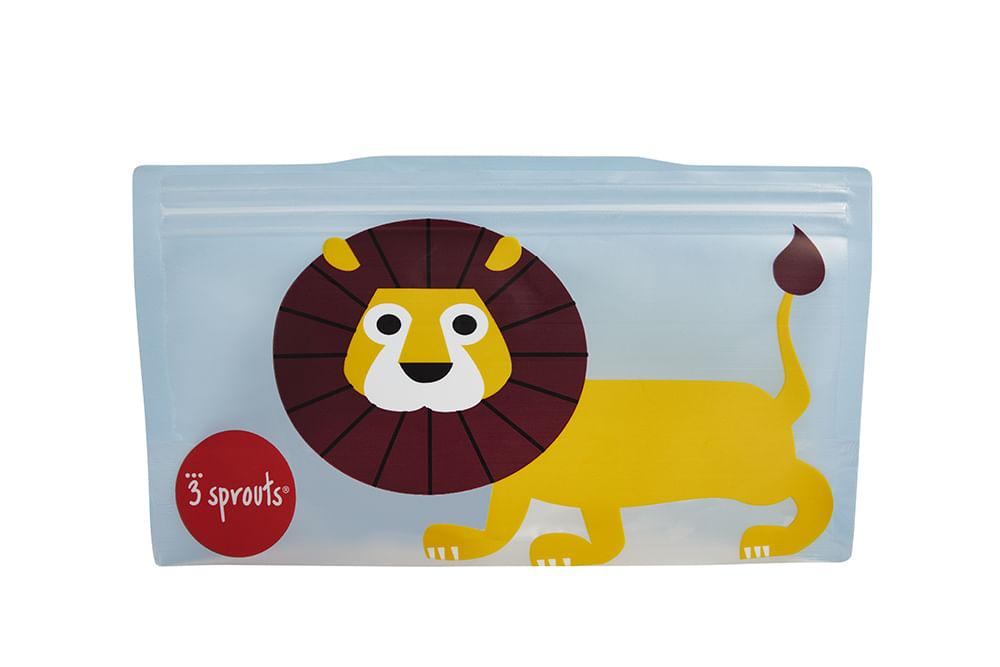 Snack Bag  3 Sprouts Leão Kit Com 2 Unidades