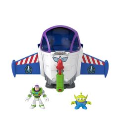 Mini-Figura-Imaginext---Toy-Story---Nave-Espacial-Buzz-Lightyear---Fisher-Price-0