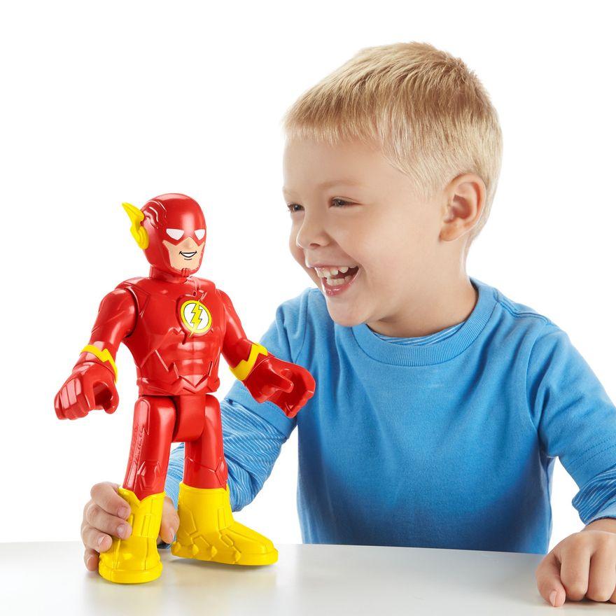 Mattel-Boneco-Articulado---26-Cm---Imaginext---DC-Comics---Flash---Mattel-4