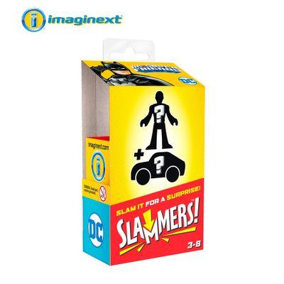 Mini-Figura-e-Veiculo---Imaginext---DC-Comics---Slammers-Surpresa---Mattel-0