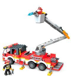 Blocos-de-Encaixe---Mega-Construx---Wonder-Builders---Caminhao-de-Bombeiro---Mattel-0