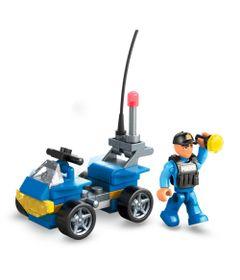 Blocos-de-Encaixe---Mega-Construx---Wonder-Builders---Resgate---Carro-de-Policia---Mattel-0