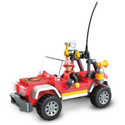 Blocos-de-Encaixe---Mega-Construx---Wonder-Builders---Caminhao-de-Bombeiros---Mattel-0