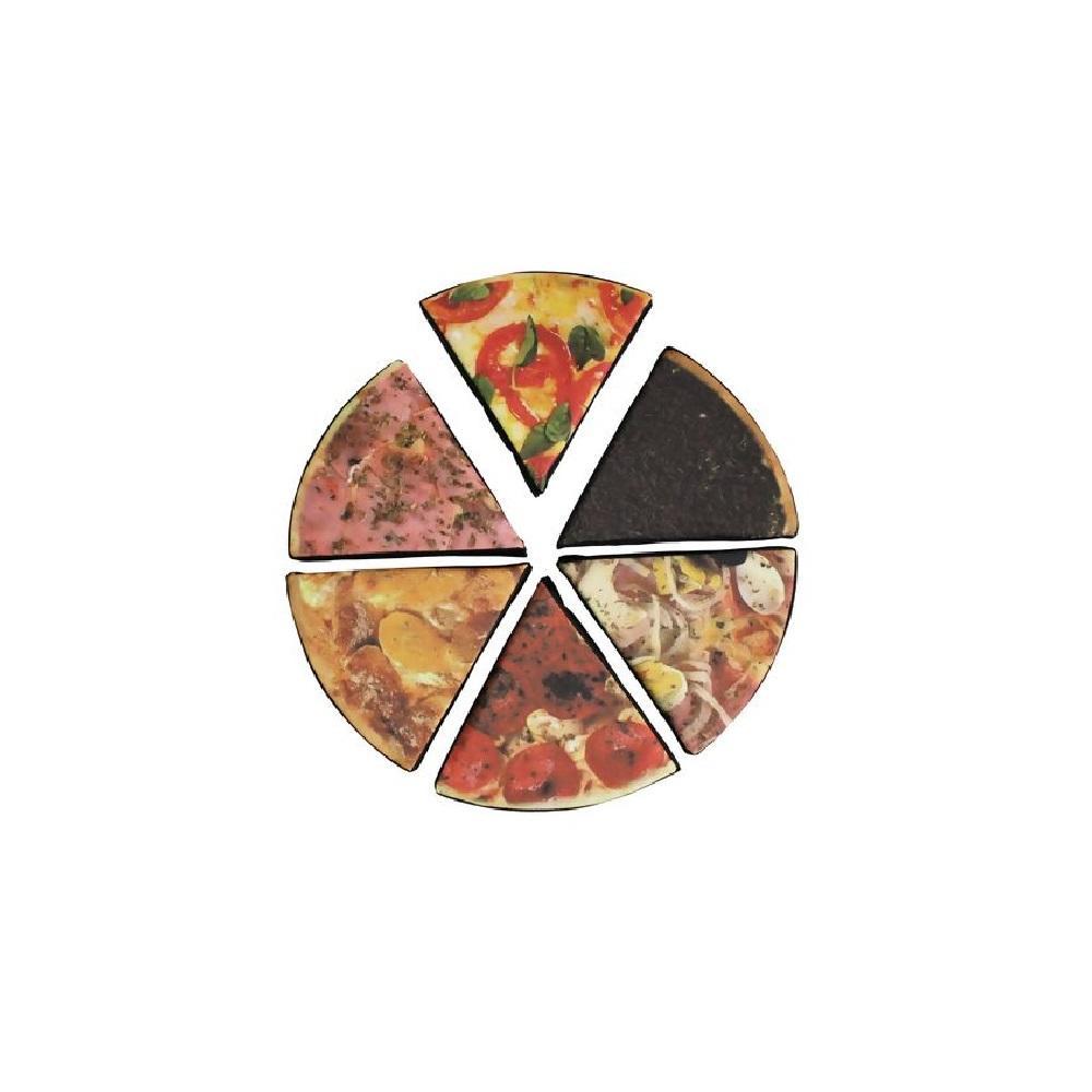 Jogo de Fração de Pizza LDM
