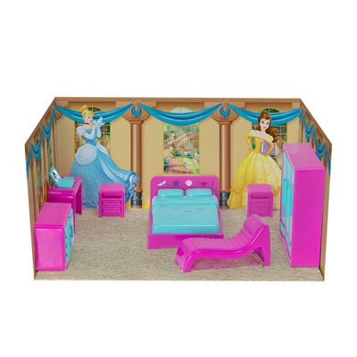 Playset---Princesas-Disney---Mini-Quarto---Mielle-Brinquedos-0