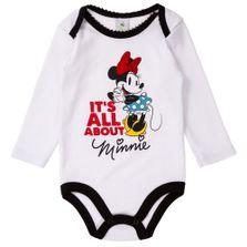 Body-Manga-Longa-Bordado---Minnie---100-Algodao---Branco---Disney---P