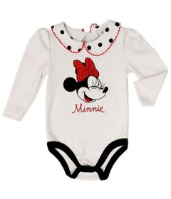 Body-Manga-Longa---Minnie---100-Algodao---Branco---Disney---P