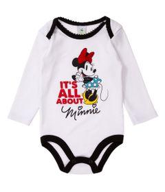 Body-Manga-Longa-Bordado---Minnie---100-Algodao---Branco---Disney---M