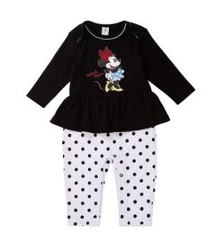 Conjunto-Infantil---Minnie---100-Algodao---Vermelho---Disney---M