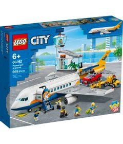 LEGO-City---Aviao-de-Passageiros---60262-0