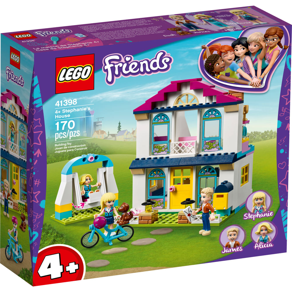 LEGO Friends - A Casa de Stephanie - 41398