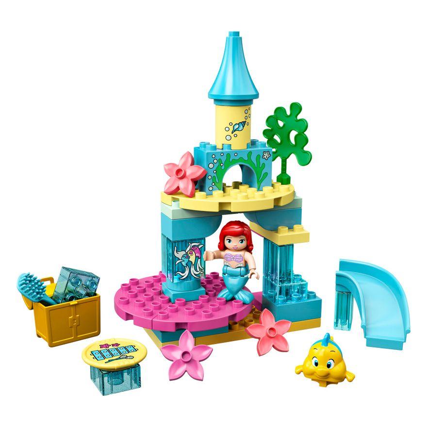 LEGO-Duplo---Princesas-Disney---O-Castelo-do-Fundo-do-Mar-da-Ariel---10922--1