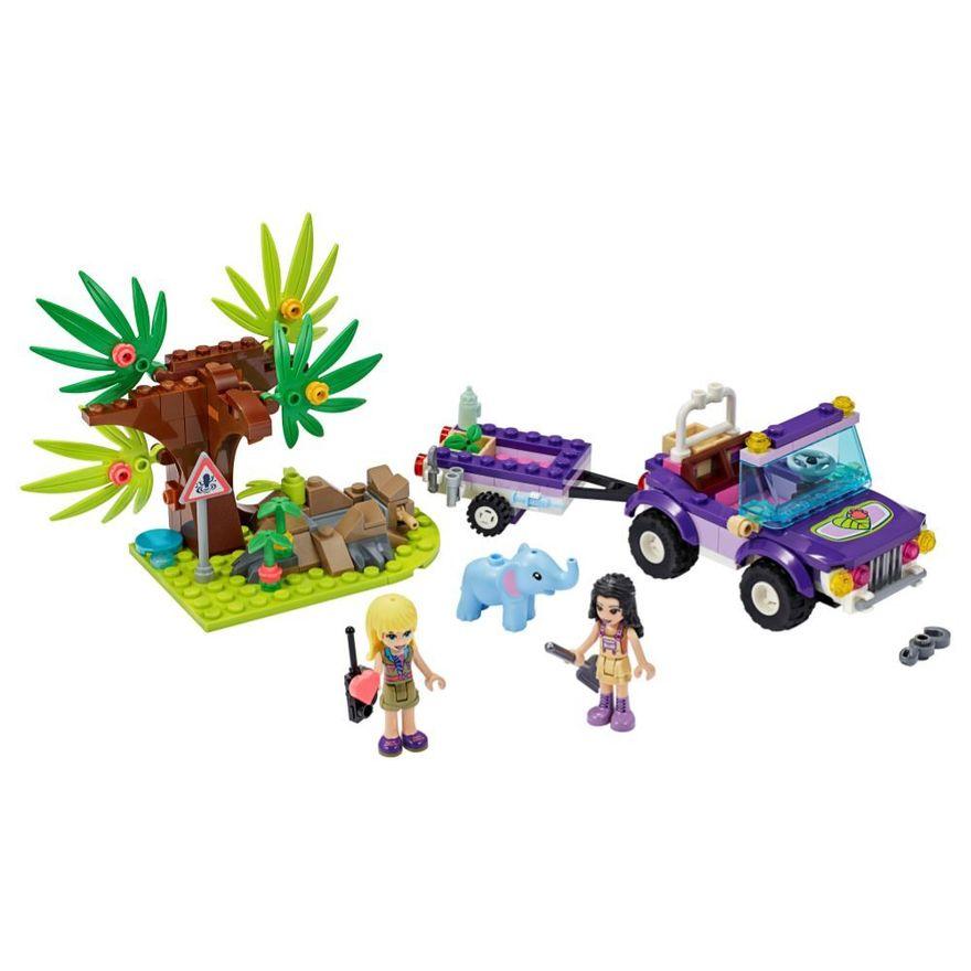 LEGO-Friends---Resgate-na-Selva-do-Filhote-de-Elefante---41421-1