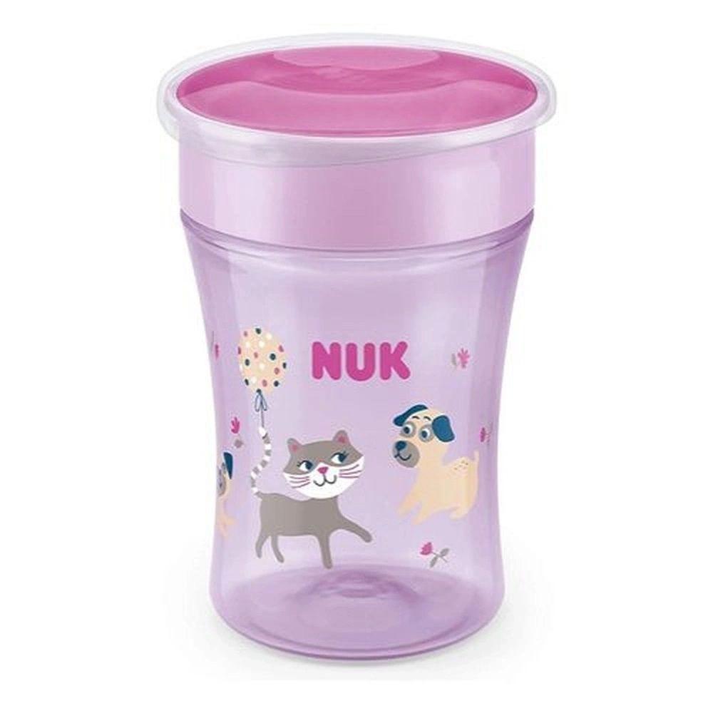 Copo Antivazamento 360° - Magic Cup - 230 ml - Girl - Roxo - Nuk