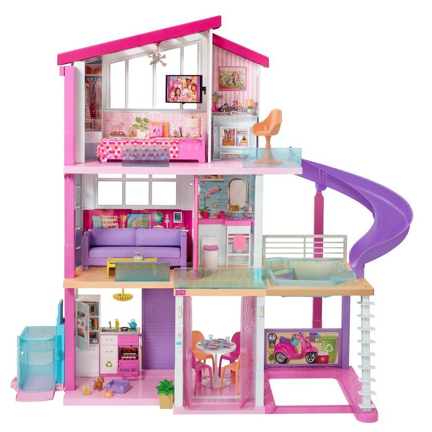 Playset-Barbie---125-Cm---Casa-dos-Sonhos-com-Elevador---Mattel-0