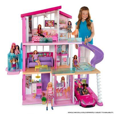 Playset-Barbie---125-Cm---Casa-dos-Sonhos-com-Elevador---Mattel-1