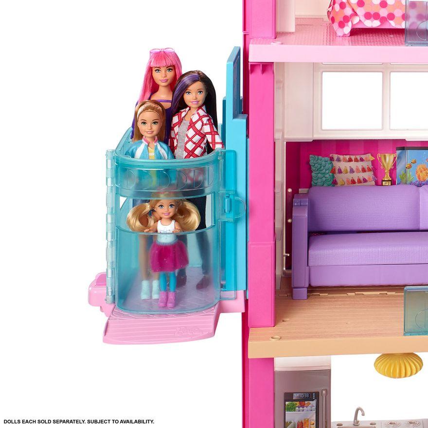 Playset-Barbie---125-Cm---Casa-dos-Sonhos-com-Elevador---Mattel-2