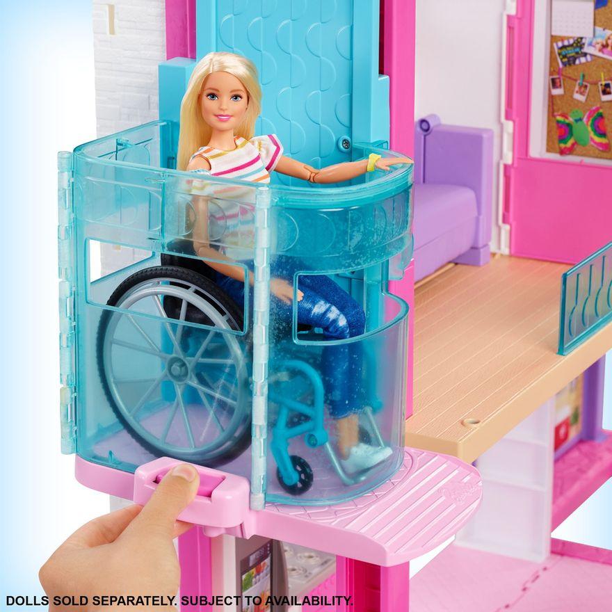 Playset-Barbie---125-Cm---Casa-dos-Sonhos-com-Elevador---Mattel-3